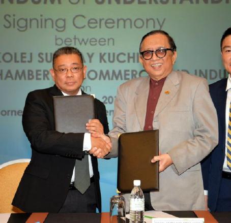 Thai Envoy Calls on SCCI President